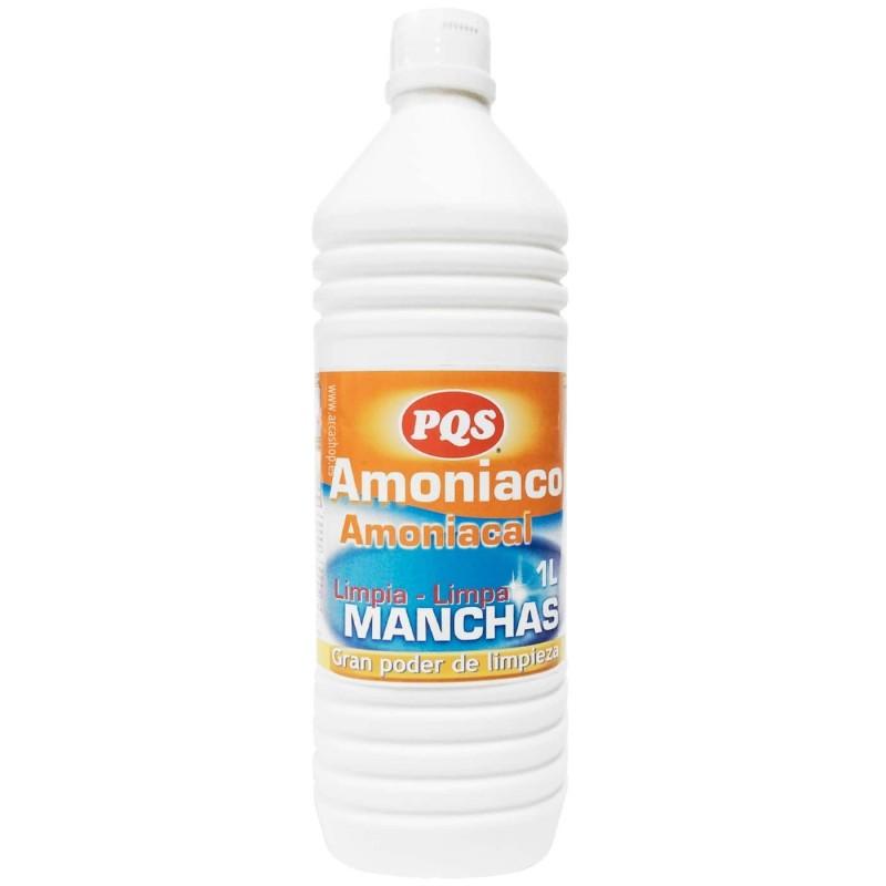 Amoniacos PQS. Limpiador Clásico, Perfumado o con Detergente.