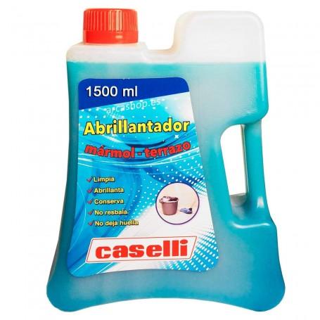 Caselli Abrillantador Suelos A9. Abrillantador Caselli 1,5 litros. Abrillantar y limpiar suelos de mármol y terrazo.
