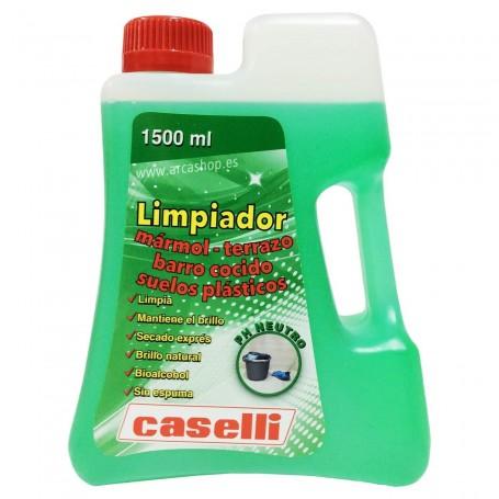 Caselli Limpiador suelos Mármol, Terrazo, Barro Cocido y Suelos de Plástico L10. 1,5 litros.