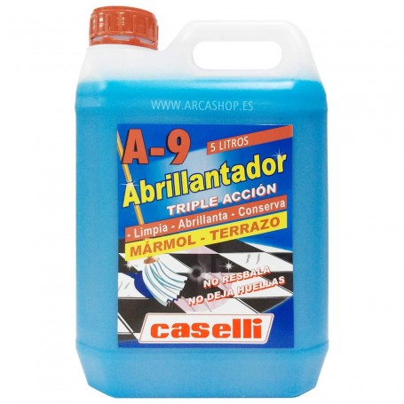 Caselli Abrillantador 5 litros Suelos A9 uso profesional doméstico