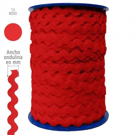 Ondulina Piquillo Rojo nº13. Piquillo Trajes de Flamenca.