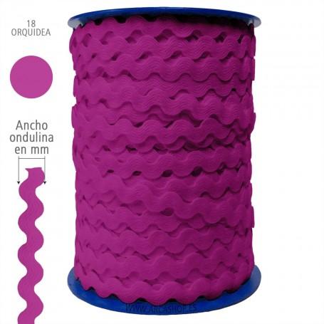 Ondulina Piquillo Piquillo Trajes de Flamenca. Color ORQUIDEA nº18