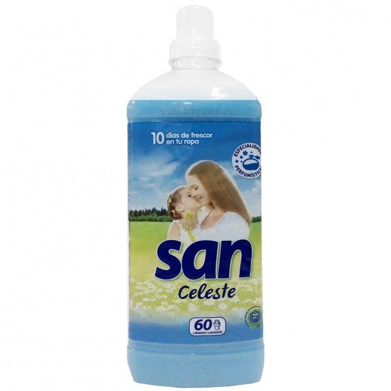 Suavizantes Concentrados SAN de Persan. 60 lavados