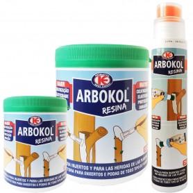 Resina para injertos, heridas y podas Arbokol.  Comprar productos y herramientas para la huerta y jardín.