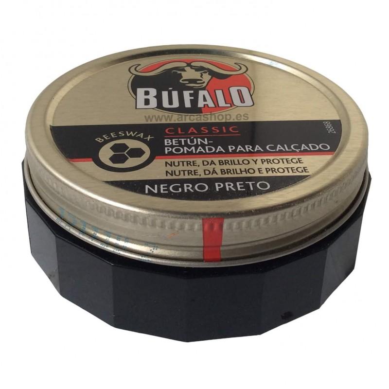 Crema Pomada Betún lata Búfalo