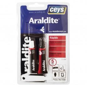 ARALDITE Ceys Pegamento Rápido Adhesivo unión extra fuerte en plásticos, metales, maderas, cristal, etc