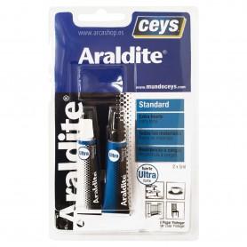 ARALDITE Ceys Adhesivo dos componentes unión extra fuerte en plásticos, metales, maderas, cristal, etc