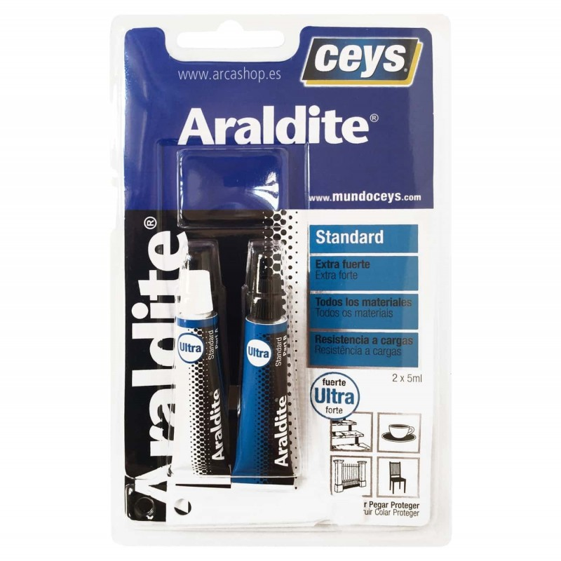 Adhesivo bicomponente Araldite Ceys Multisuperficies
