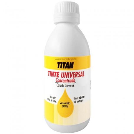 Tinte Concentrado Universal TITAN Amarillo  0402