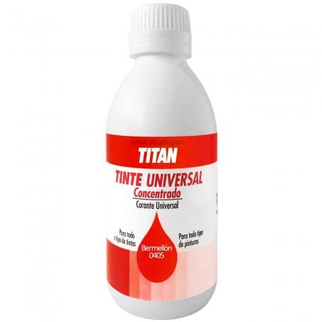 Tinte Concentrado Universal TITAN Bermellón  0405