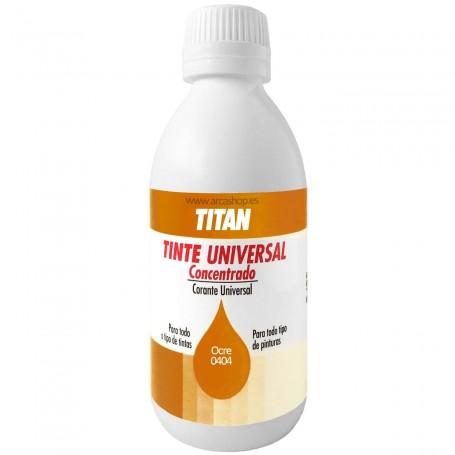 Tinte Concentrado Universal TITAN Ocre  0404
