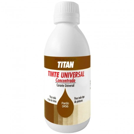 Tinte Concentrado Universal TITAN Pardo  0456
