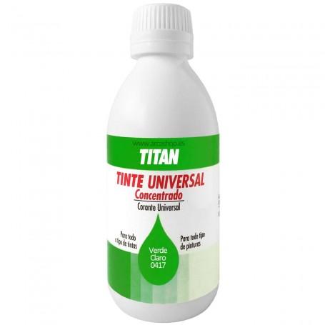 Tinte Concentrado Universal TITAN Verde claro  0417