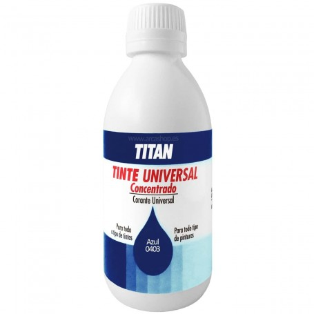 Tinte Concentrado Universal TITAN Azul  0403
