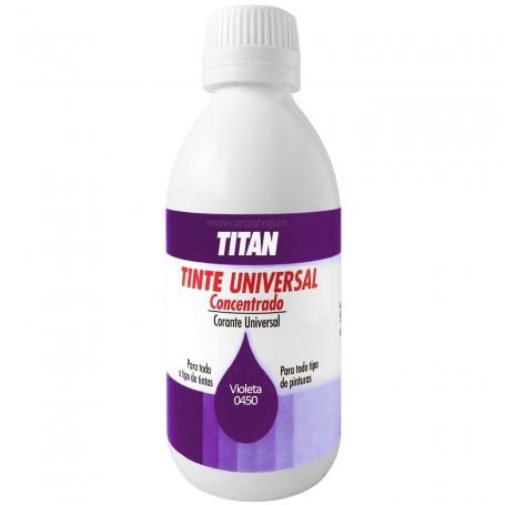 Tinte Concentrado Universal TITAN Violeta  0450