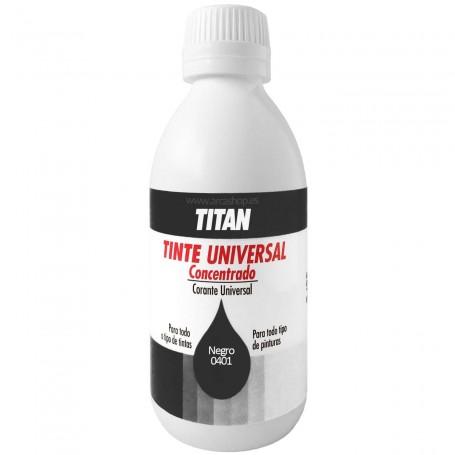 Tinte Concentrado Universal TITAN Negro  0401