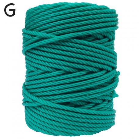 Cuerda Plástico verde Persianas y tendederos