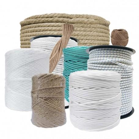 Cuerdas de uso doméstico y profesional