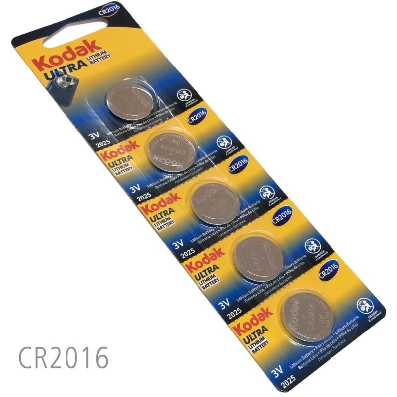 Pilas de Botón Kodak Ultra Litio y Alcalinas Mandos a distacia