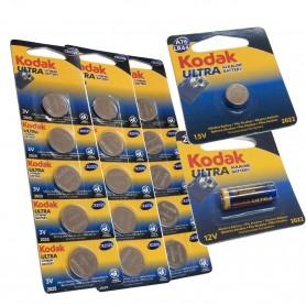 Pilas de Botón Kodak Ultra Litio CR2032
