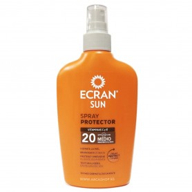 Spray Protector Solar Ecran Sun 200 ml Vitamina C y E