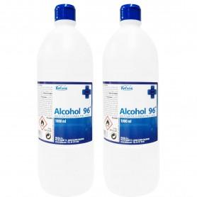 Alcohol Etílico Sanitario de 96º Kelsia 1 litro