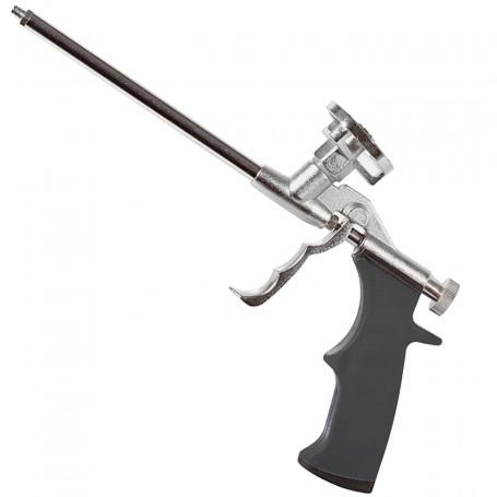 Pistola para adhesivo de Montaje y espumas de poliuretano trabajos de bricolaje, asilante y construcción.