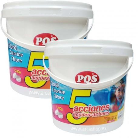 Cloro Cinco Acciones PQS