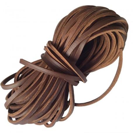 Cordón Náutico color Cuero Oscuro  Zapatos Calzado Náutico