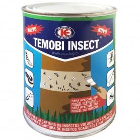 Temobi insect Cola Especial Insectos. Se aplica con brocha o pincel. Aplicar en el tronco del árbol.