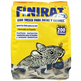 Finirat Cebo Raticida Fresco para ratas y ratones Impex Europa