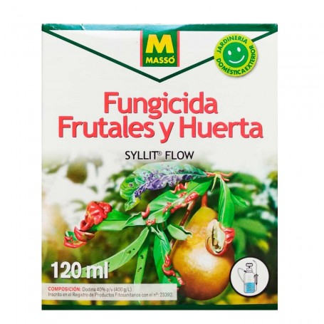 Fungicida Preventivo y Curativo Massó SYLLT FLOW Huerta y Frutales
