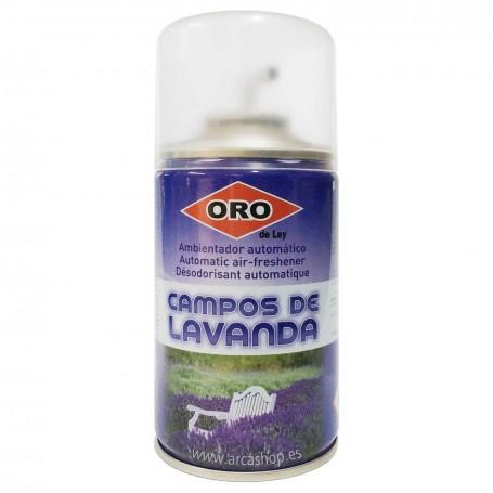 Recambio Ambientador Spray Aroma Lavanda  Difusor Automático oro de Ley