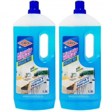 Limpiador Higiene Limpiahogar PH Neutro Multisuperficies Oro de Ley