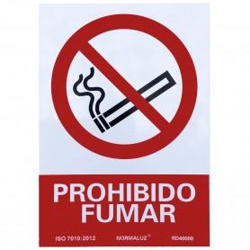 PROHIBIDO FUMAR Carteles Señalítica Informativa, Advertencia y Prohibición.