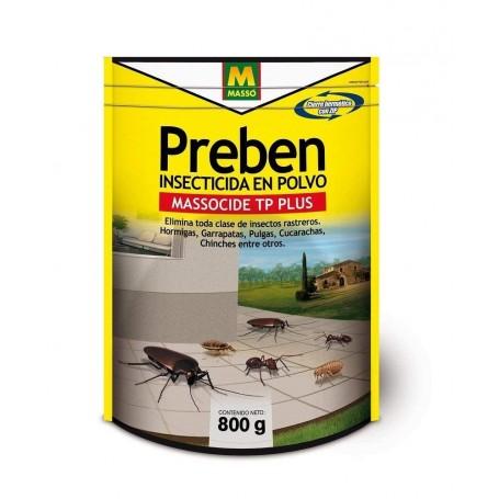 Insecticida en polvo Preben Massó Garden 800 grs