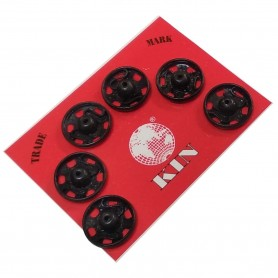 Broche Presión  Negro Unión textil Kohinoor botón presión