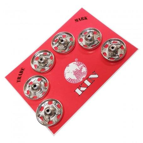 Broche Presión Níquel Unión textil Kohinoor botón presión