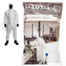 Traje Buzo de Protección Química Chem 60 Total Line Protection