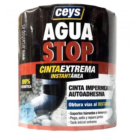 Cinta impermeable autoadhesiva instantánea Agua Stop Ceys Impermeabilizante