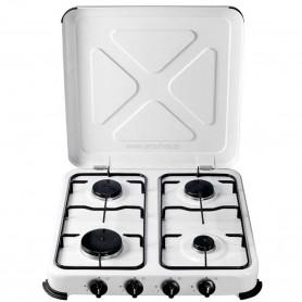 Cocina a Gas Portátiles de 4 Fuegos Vivahogar VH99262 50x50 cm aprox.
