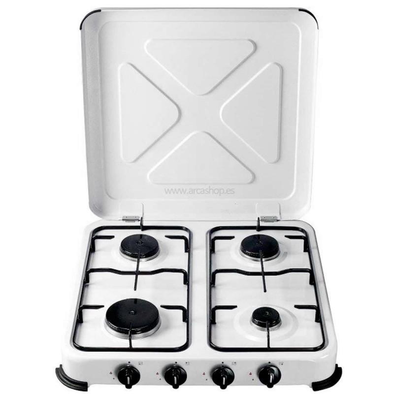 Cocinas a Gas Portátiles de 2 y 4 Fuegos Hornillos Vivahogar