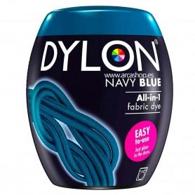 Tinte azul marino nay blue DYLON POD con fijador Sal incluido y uso exclusivo en Lavadoras