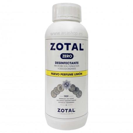 Desinfectante Zotal Zero Limón microbicida, fungicida y desodorizante