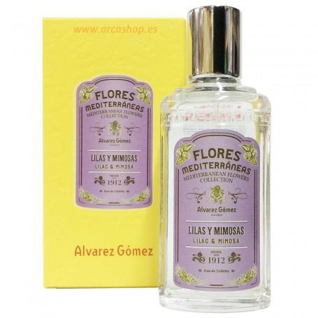 EDT Lilas y mimosas Flores Mediterráneas, Agua Colonias Concentradas de Alvarez Gómez