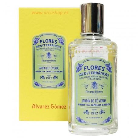 EDT  Perfume Arbol te verde Flores Mediterráneas, Agua Colonias Concentradas de Alvarez Gómez
