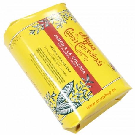 Jabón Pastilla Perfumada a la Colonia Alvarez Gómez glicerina, avena, aloe y el aceite de oliva