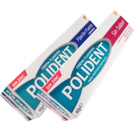 POLIDENT Cremas Fijadoras para prótesis dentales