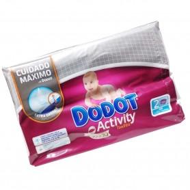 Toallitas Higiene Activity Sensitive Dodot. Limpiar las caquitas de Bebé sin dañar la piel (evita irritaciones)
