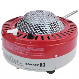 Mini Estufa Portátil horizontal a gas 1100 W para calefacción DOMACO mod. Cala 2.2